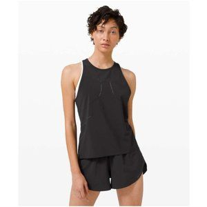 Lululemon Find Your Pace Tank Black Size 10 Top